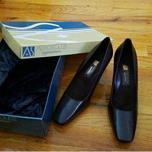 Aerosoles Signature Collection Brown Heels